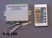 Цветомузыкальный контроллер РиК-12RGB IR.
